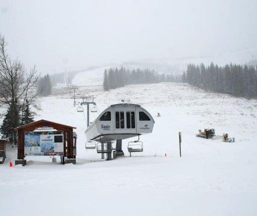Photo from Schweitzer Mountain taken on Monday