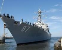 The Arleigh Burke-class guided-missile destroyer USS Mason (US Navy/Mass Communication Specialist 3rd Class Nathan Parde/AFP/File, Eric S. Garst)