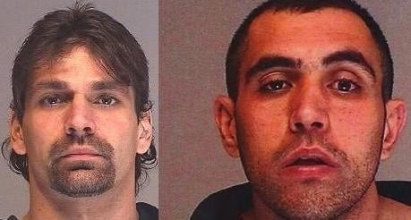 "Tony Callihan (Left) is the suspect in the homicide of a woman in the 2300 block of W. Broadway. David ""Brandon"" Deponte (right) is the victim of a homicide at Bridge & Cannon in west central Spokane"