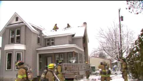 Crews Respond To House Fire