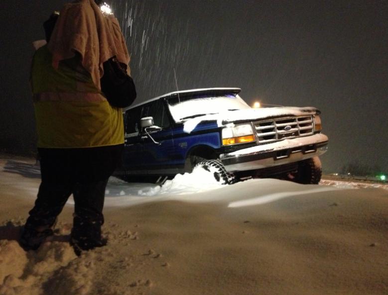 Photo taken on Thursday morning on Hwy. 395 between Deer Park and Spokane