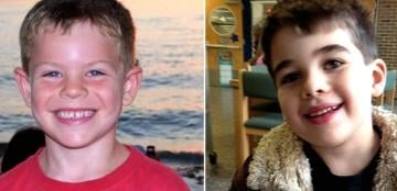 Jack Pinto on the left, Noah Pozner on the right