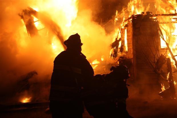 PHOTO: Northern Lakes Firefighters Matt Usher , Jarred Pitts