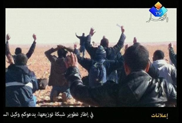 PHOTO: Ennahar TV via Reuters TV