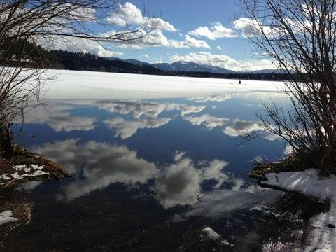 PHOTO From KHQ Viewer Cutechick In Hauser Lake