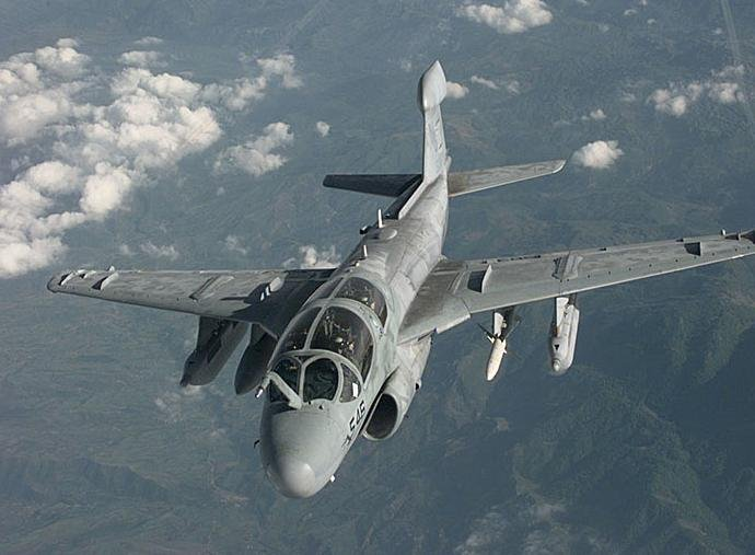 File photo of an EA-6B
