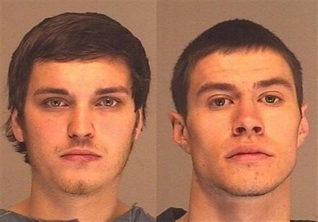 Suspects Zachory J. Davis (Left) & Trevor J. Haugen (right)