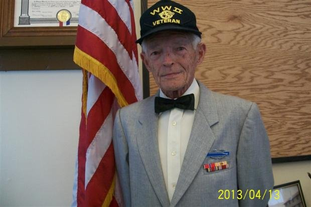 Dwight Staley Finally Received His WWII Medals Saturday In Lewiston