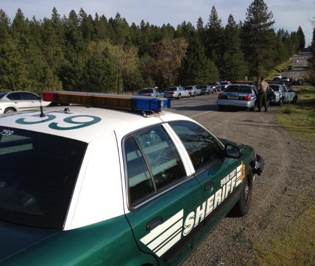 Heavy police activity in spokane valley spokane north for Department of motor vehicles spokane valley