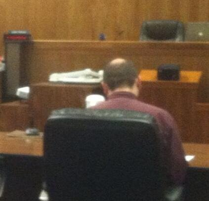 Suspect Jacob Forster in court on Wednesday