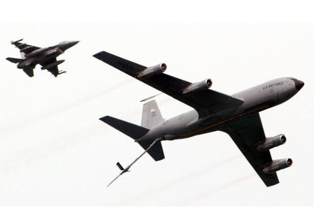 File Photo of US Air Force KC-135 Tanker Aircraft
