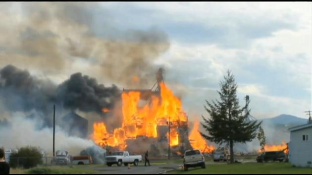 Craigmont Grain Bin Fire Update Spokane North Idaho