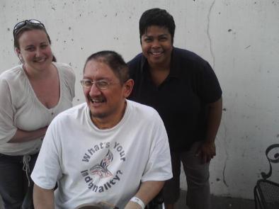 Photo of David Warner in rehab