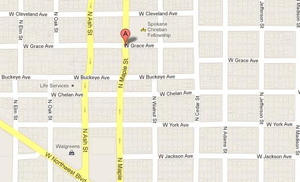 The first shooting happened on Maple and Grace around 12:50am Thursday morning