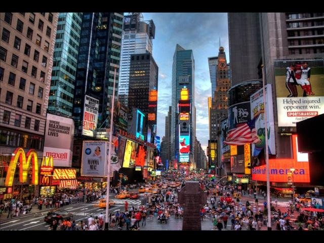 5. New York is ranked the 5th best tourist destination for the year. From Wall Street to Yankee Stadium, Times Square To Rockaway Beach, New York Has something for everyone. (Courtesy: MGN Online)