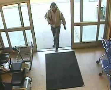 Surveillance photo from Albertsons