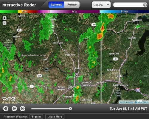 Interactive Track Live Weather Radar Using Hd Doppler 6i