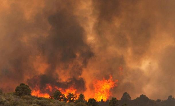 Near Peeples Valley, Arizona on Sunday, June 30th, 2013
