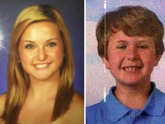 Hannah and Ethan Anderson, ages 16 and 8, were abducted in Boulevard, California, on Saturday, according to an Amber alert.