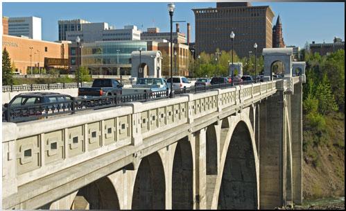 Monroe St. BRidge - Spokane