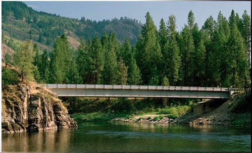 Rock Cut BRidge - Stevens-Ferry Counties, WA