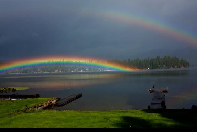 Photo from KHQ friend Sandy Milliken in Newman Lake