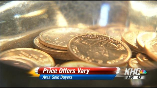 The BBB says you may not be getting a fair price when you sell your gold