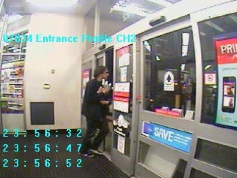 The man in this picture is wanted for a robbery that happened at Walgreen's on E. Empire Tuesday night (Photo: Spokane Police Department)