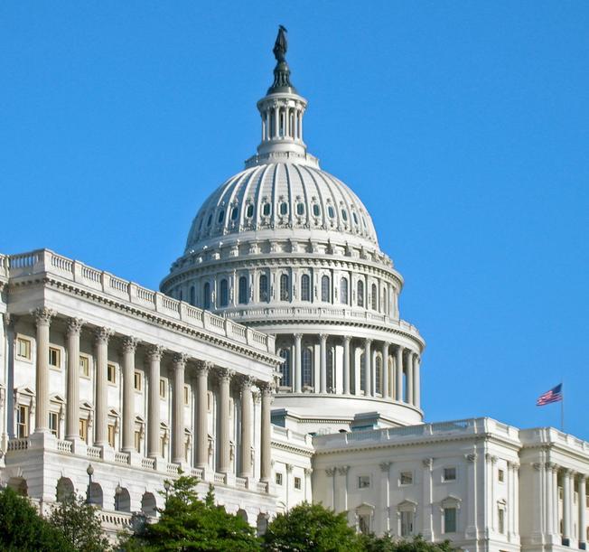 U.S. Capitol in Washington DC
