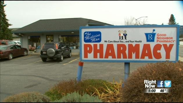 Several stores, like the Medicine Man Pharmacy, have stopped keeping a supply of drugs like Oxycontin on hand in an effort to keep pharmacy employees and customers safe