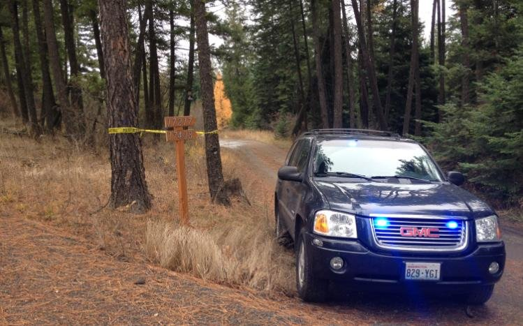 Photo of property in Elk, Wash. where human remains were found.