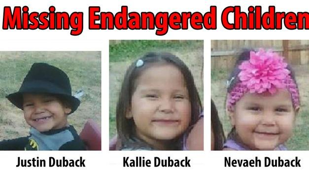Photo of the missing children