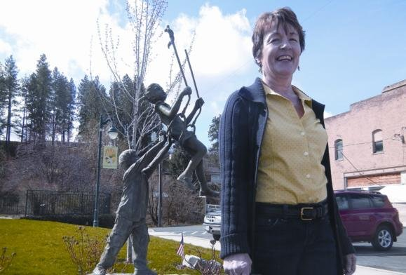 Photo of Alison E Webb courtesy the Whitman County Gazette
