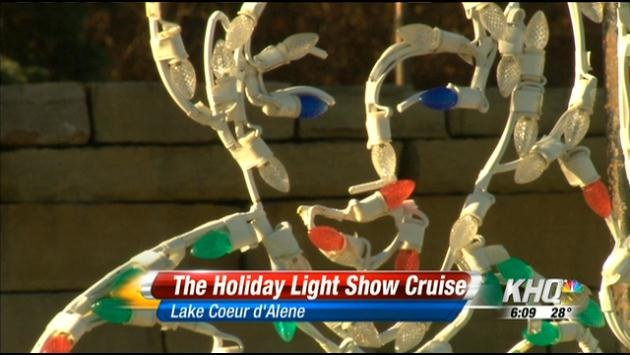 The holiday lights in Coeur d'Alene are ready for action