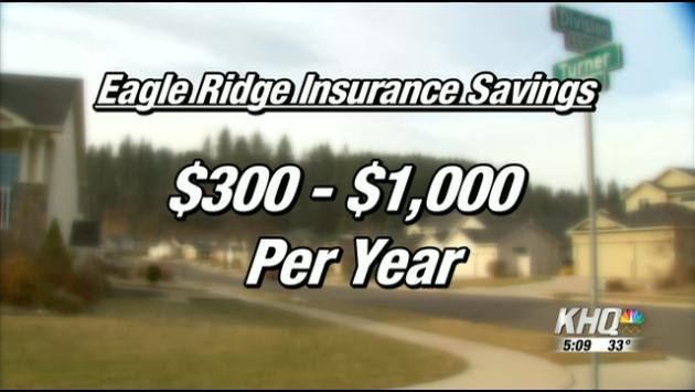 A new agreement between Spokane Fire and rural Fire District 3 is expected to save homeowners in the Eagle Ridge subdivision a whole lot of cash.