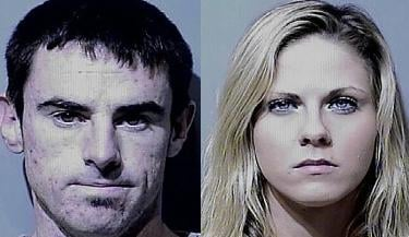 23-year-old David Clune of Post Falls and 20-year-old Alissa Vonwelser of Coeur d'Alene were arrested for Burglary and Criminal Conspiracy.