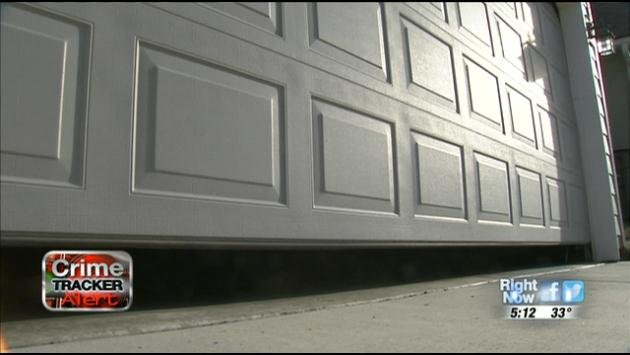 A homeowner in Spokane Valley was burglarized after leaving his garage door open around 8:00 p.m. Monday night.