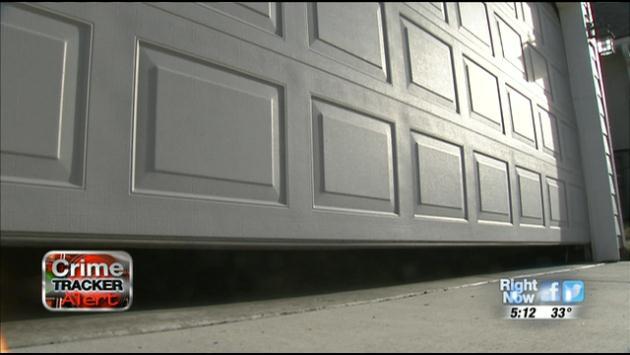 A homeowner in Spokane Valley was burglarized after leaving his garage door open around 8:00 p.m. Monday night.