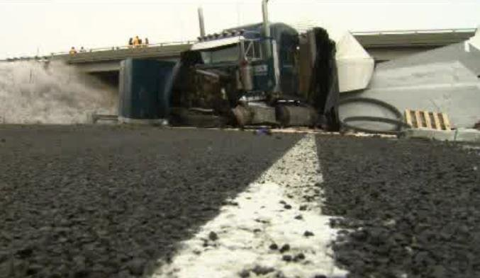 A series of crashes on I-90 near Four Lakes turned fatal Wednesday morning