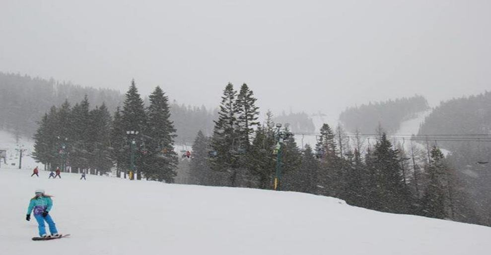 Photo from Mt. Spokane taken on Friday.
