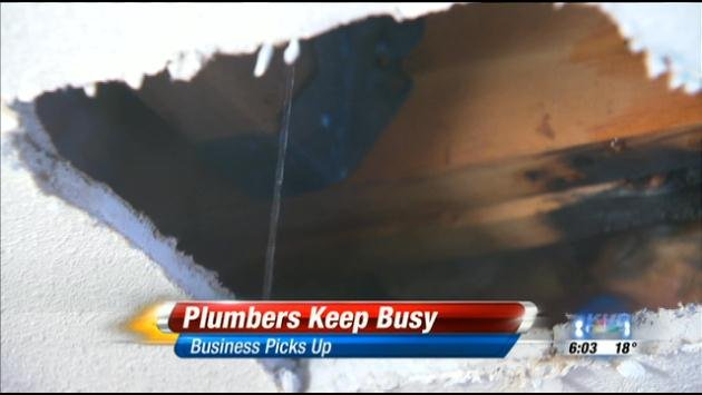 Cold weather has been freezing pipes and keeping plumbers busy in the Inland Northwest