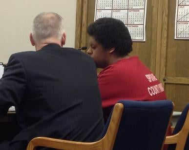 Avondre Graham appears in court on Tuesday.