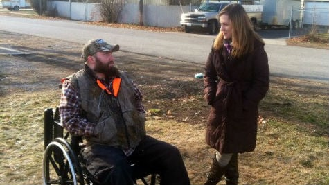 Over the weekend, James VanCuren's snow tires were stolen from outside his garage before being installed on his truck. He desperately needs the tires to travel the pass to Seattle to meet with lung transplant doctors to get on a wait-list for an operation