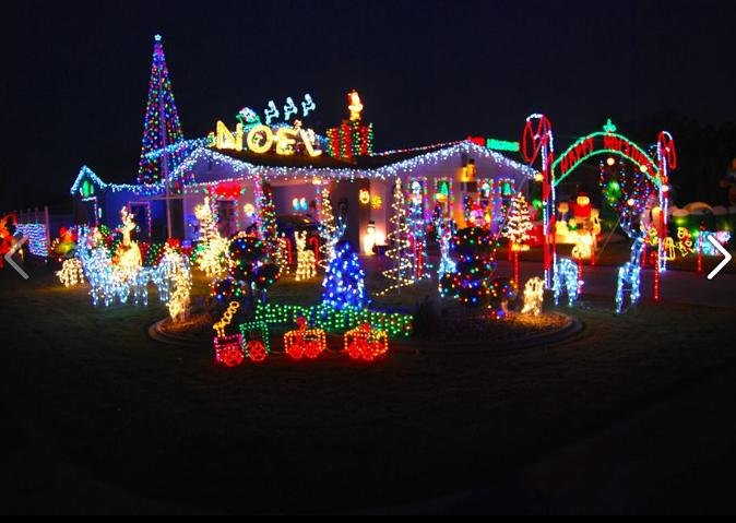 Photo from our KHQ Facebook Christmas Lights page