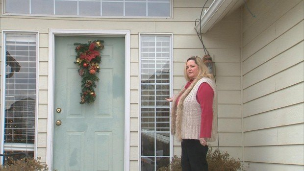 Keva Wolfe had her Christmas lights stolen in Post Falls, Idaho