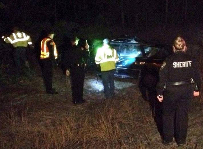 The Washington State Patrol responded to a vehicle that hit a moose Tuesday night in Stevens County.