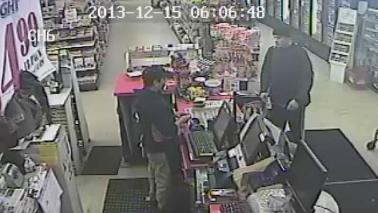 The Lewiston Police Department is looking for the man in this photo. They say he passed a counterfeit $50 bill