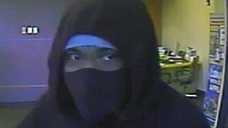 Spokane Police say this man, along with two other men, robbed the Washington Trust Bank on N. Maple Friday morning