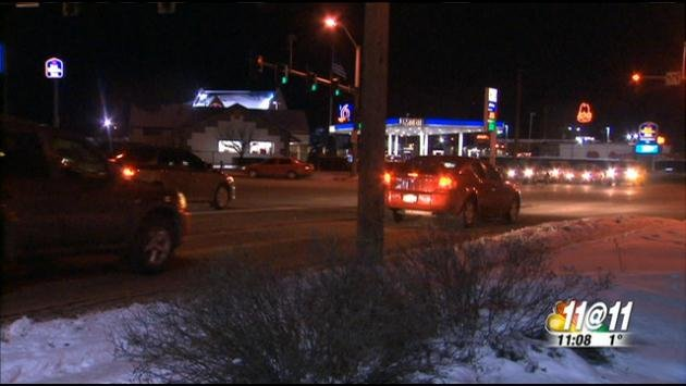 A family from Post Falls was attack at a busy intersection in Coeur d'Alene on Monday night