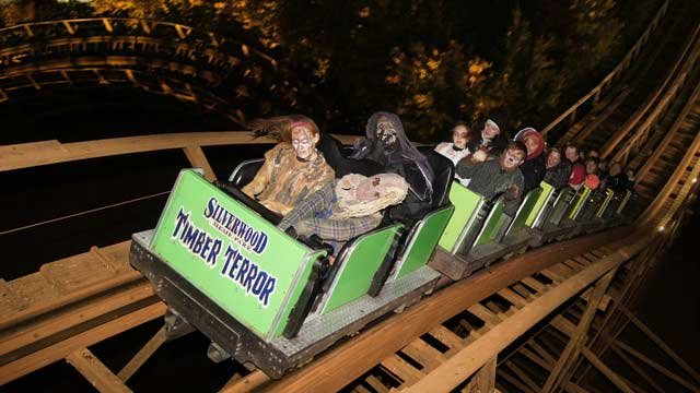 Timber Terror at Scarywood